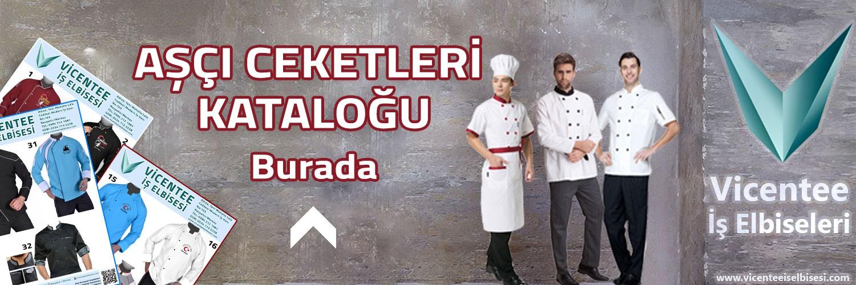 Aşçı Ceketleri Kataloğu Burada